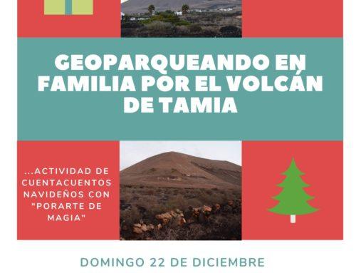 GEOPARQUEANDO EN FAMILIA POR EL VOLCÁN DE TAMIA