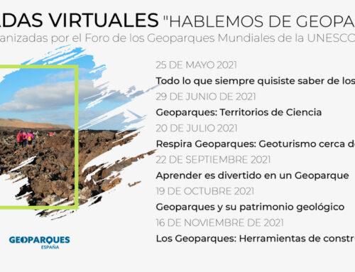 """JORNADAS VIRTUALES """"HABLEMOS DE GEOPARQUES"""""""