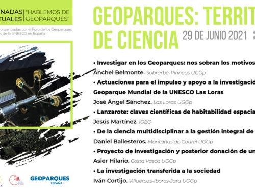 Geoparques: Territorios de ciencia