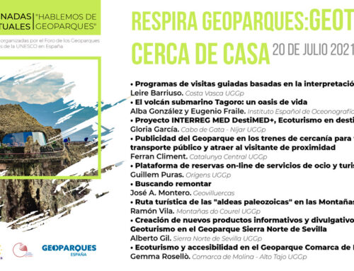Respira Geoparques: Geoturismo cerca de casa