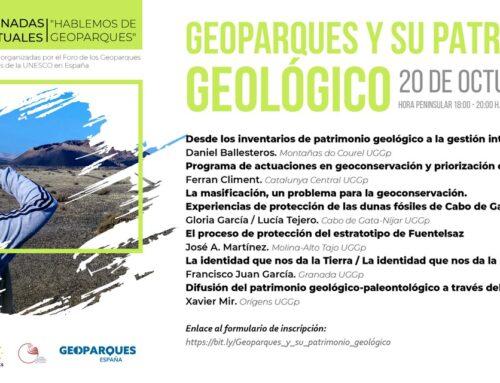 Geoparques y su patrimonio geológico